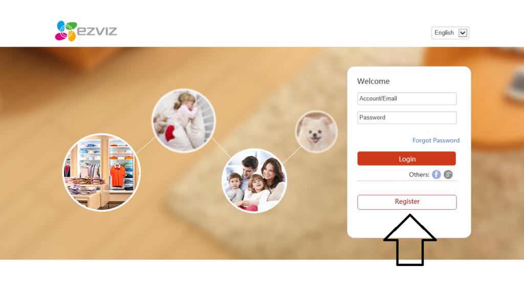 Rejestracja w serwisie EZVIZ HiCloudCam